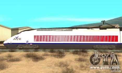 Express Train for GTA San Andreas left view