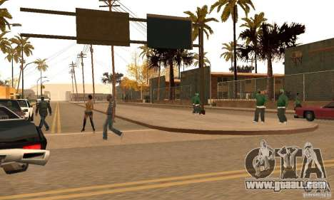 Autumn Mod v3.5Lite for GTA San Andreas second screenshot