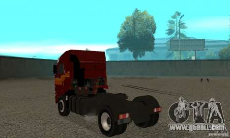 KAMAZ 5460 Skin 2 for GTA San Andreas right view