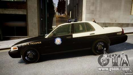 Ford Crown Victoria Florida Highway Patrol Units for GTA 4 left view