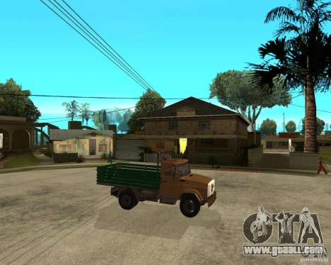 ZIL-433362 Extra Pack 1 for GTA San Andreas side view