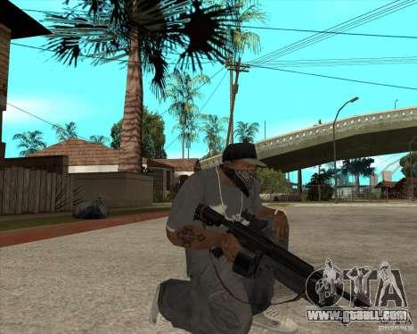 M4 Drum Magazine for GTA San Andreas second screenshot