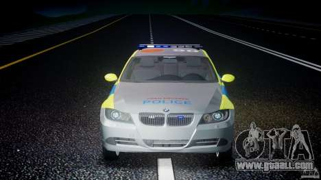 BMW 350i Indonesian Police Car [ELS] for GTA 4 interior