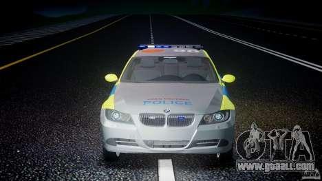 BMW 350i Indonesian Police Car [ELS] for GTA 4 interior