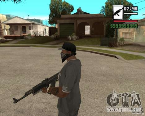 AK47 with GP-30 for GTA San Andreas second screenshot