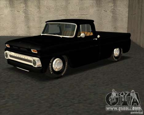 Chevrolet C10 1966 Slamvan Pickup Truck for GTA San Andreas