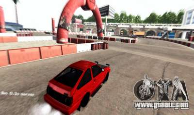 NFS:Shift Drift Tracks for GTA San Andreas