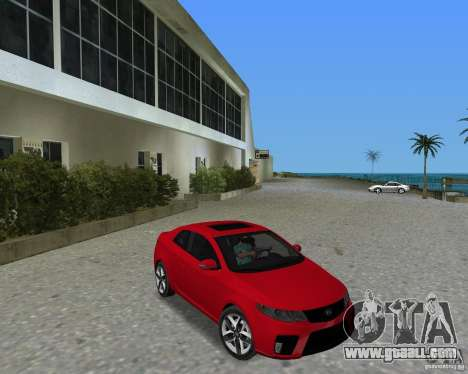 Kia Forte Coupe for GTA Vice City