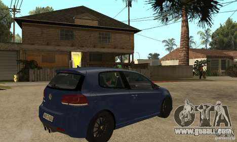 Volkswagen Golf Mk6 2010 for GTA San Andreas right view