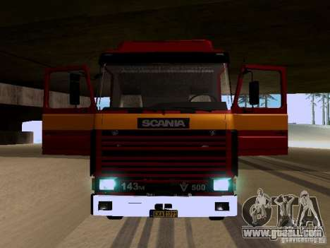 Scania 143M for GTA San Andreas side view