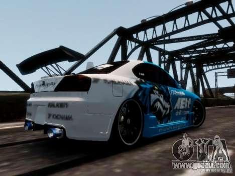Nissm Silvia S15 Blue Tiger for GTA 4 left view