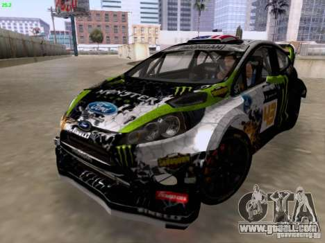 Ken Block Ford Fiesta 2012 for GTA San Andreas