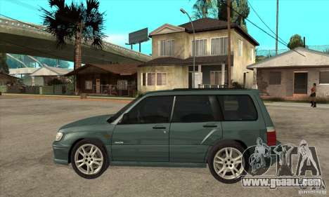 Subaru Forester for GTA San Andreas left view