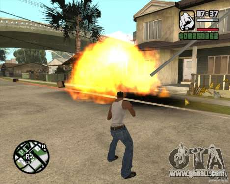 Blast (version for notebooks without Numpad) for GTA San Andreas third screenshot