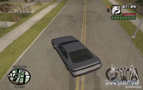 Street names on the radar for GTA San Andreas third screenshot