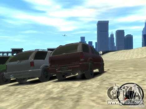 Chevrolet Blazer LS 2dr 4x4 for GTA 4 back view