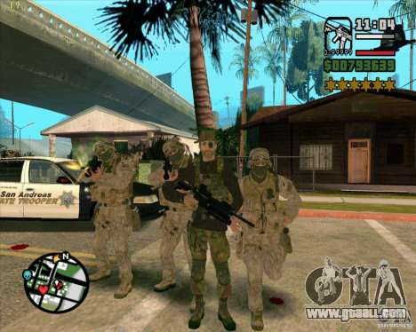 Skin Praice from COD 4 for GTA San Andreas