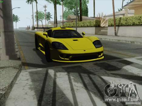 Saleen S7 Twin Turbo Competition Custom for GTA San Andreas right view