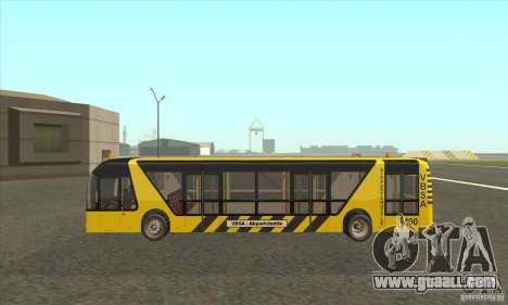 Bus To The Airport for GTA San Andreas left view