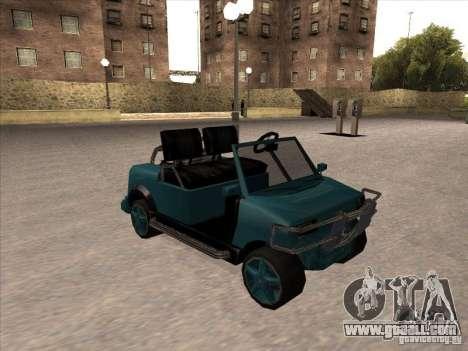 Small Cabrio for GTA San Andreas
