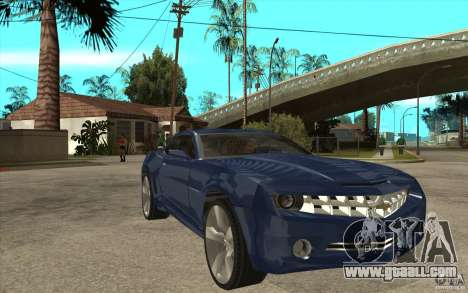 Chevrolet Camaro Concept Tunable for GTA San Andreas back view