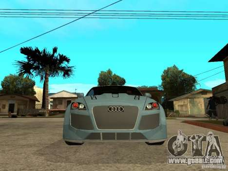 Audi TT 2007 Tuned for GTA San Andreas right view