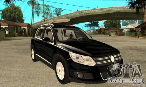 Volkswagen Tiguan 2.0 TDI 2012 for GTA San Andreas upper view