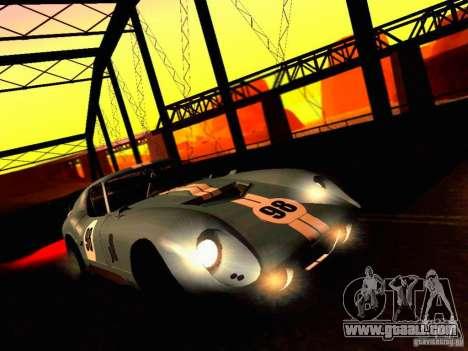 Shelby Cobra Daytona Coupe v 1.0 for GTA San Andreas side view