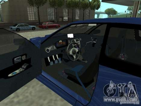 Subaru Impreza 22B STI for GTA San Andreas back left view