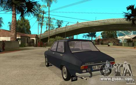 Dacia 1300 v2 for GTA San Andreas back left view