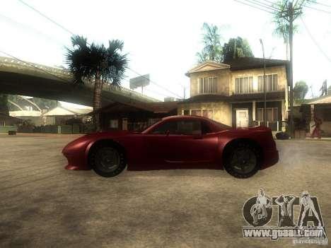 Axis Pegasus for GTA San Andreas left view