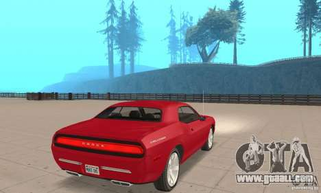 Dodge Challenger 2007 for GTA San Andreas left view