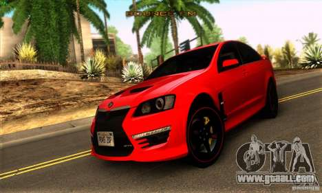 Holden HSV GTS for GTA San Andreas left view