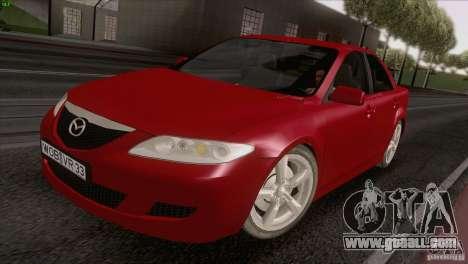 Mazda 6 2006 for GTA San Andreas right view