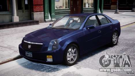 Cadillac CTS for GTA 4