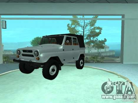 UAZ 469 for GTA San Andreas
