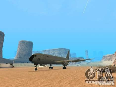 Boeing KC767 U.S Air Force for GTA San Andreas