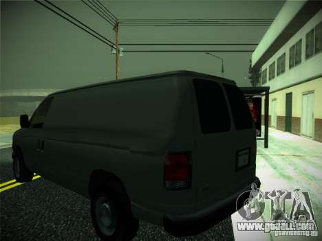 Ford E150 2000 for GTA San Andreas right view
