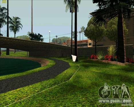 The new Park in Los Santos for GTA San Andreas fifth screenshot