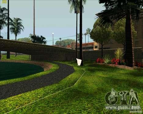 The new Park in Los Santos for GTA San Andreas fifth screenshot