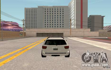 Toyota Sequoia 2011 for GTA San Andreas back view