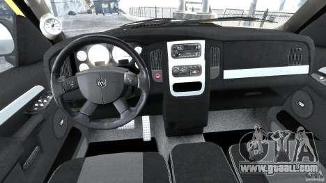Dodge Ram SRT-10 2003 1.0 for GTA 4 right view