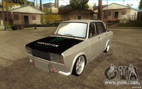Vaz Lada 2107 Drift for GTA San Andreas