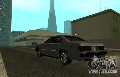 New Sentinel for GTA San Andreas left view