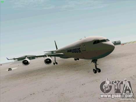 Airbus A-340-600 for GTA San Andreas