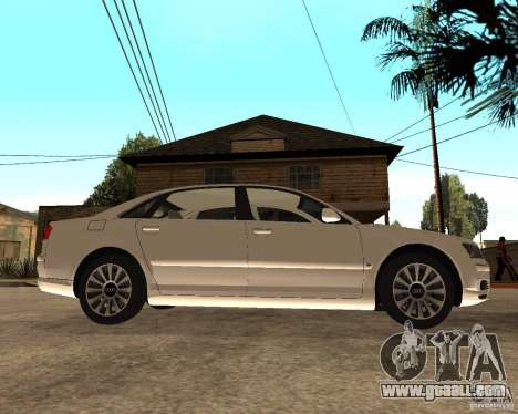 Audi A8 2003 for GTA San Andreas right view