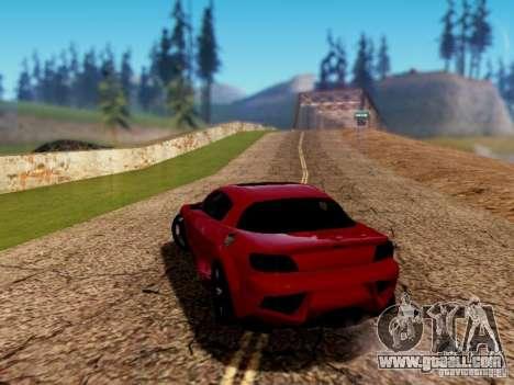 Mazda RX8 Reventon for GTA San Andreas left view