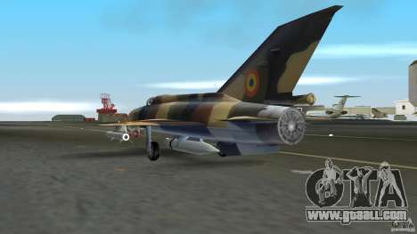 MiG 21 LanceR A for GTA Vice City right view