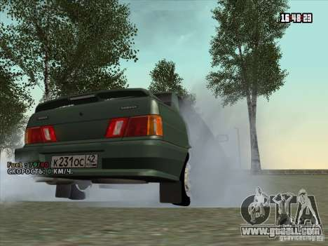 VAZ 2115 Drain for GTA San Andreas right view