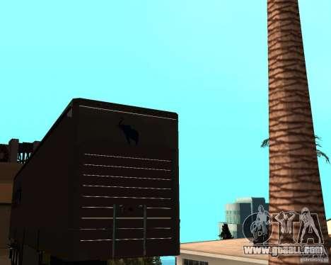 Schmitz for GTA San Andreas back left view